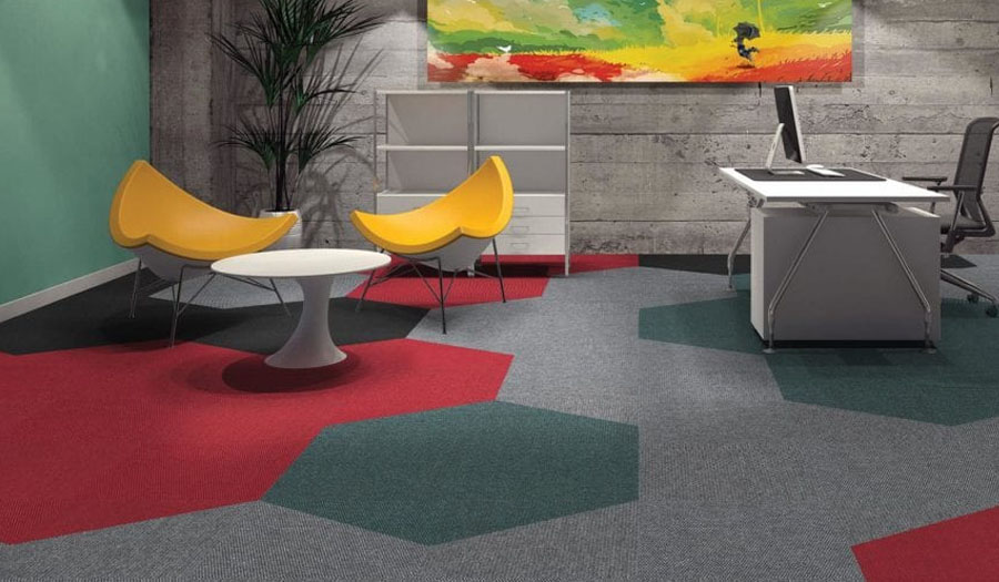 carpets in study